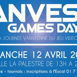 VANVES GAMES DAY – 3e Edition
