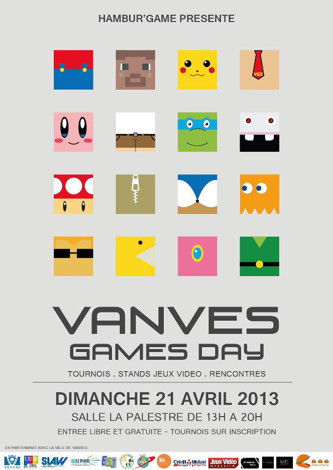 VANVES GAMES DAY