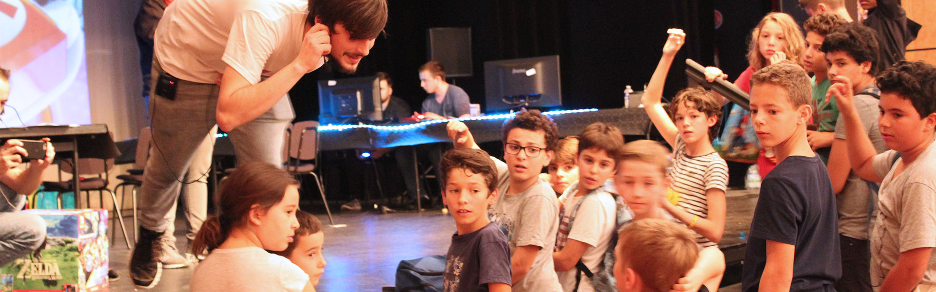 louveciennes games day animation