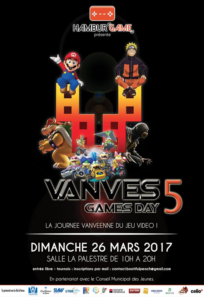 VANVES GAMES DAY – 5e Edition